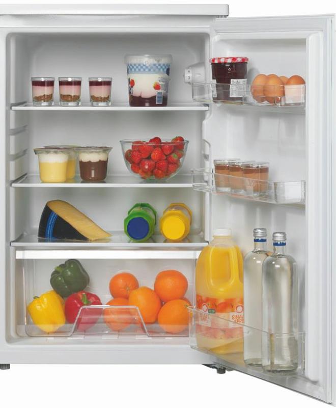 EDY EDTK5504 koelkast zonder vriesvak 55cm breed